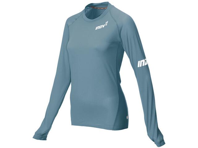 inov-8 Base Elite Langarmshirt Damen blue